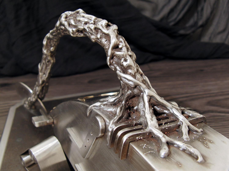 Sculpture metal diskor aurelien george